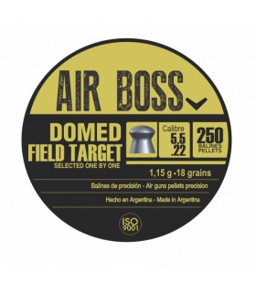 AIR BOSS Domed FT Cal. 5,5 - 18 grains pellet for PCP
