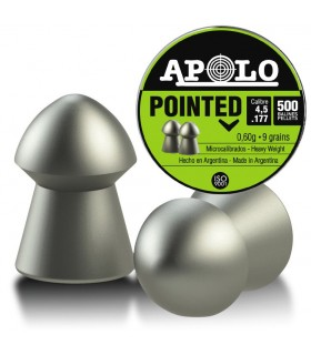 APOLO pellets for PCP Airguns Pointed Cal. 4,5 - 9 grains