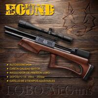 Hound, la bullpup de la familia LOBO. Compacta, precisa y siñenciosa.  #pcp #bullpup #pcpairgun #pcpairrifle #airgun #carabina #moderator